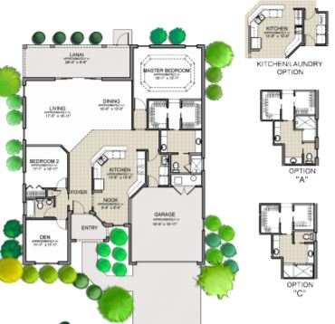 Gardina floor plan by the villages of florida eboomer realty for The villages gardenia floor plan