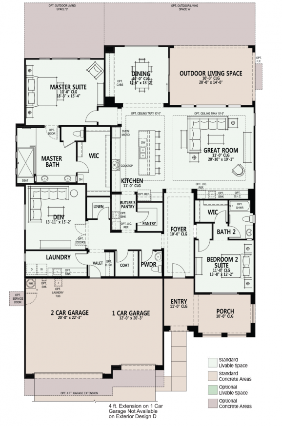 Robson Communities Floor Plans | TheFloors.Co