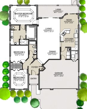 Iris Floor Plan By The Villages Of Florida Eboomer Realty